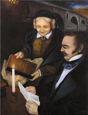 IMAGEM Allan Kardec e sua esposa Amélie Gabrielle Boudet